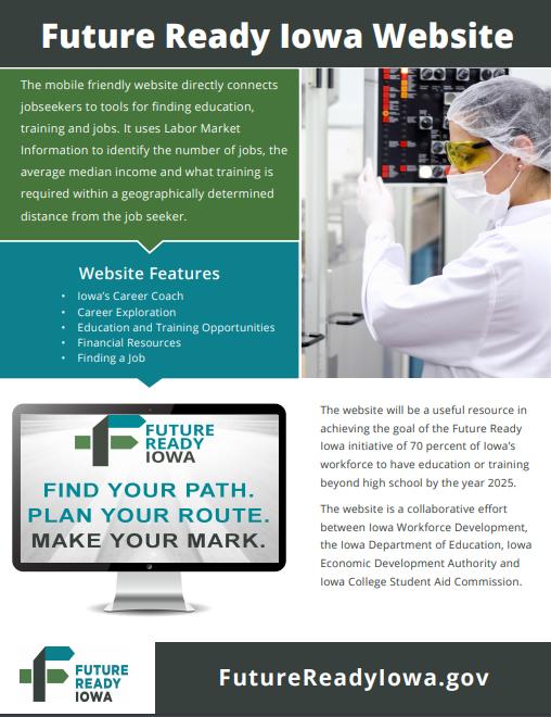 Future Ready Iowa Website