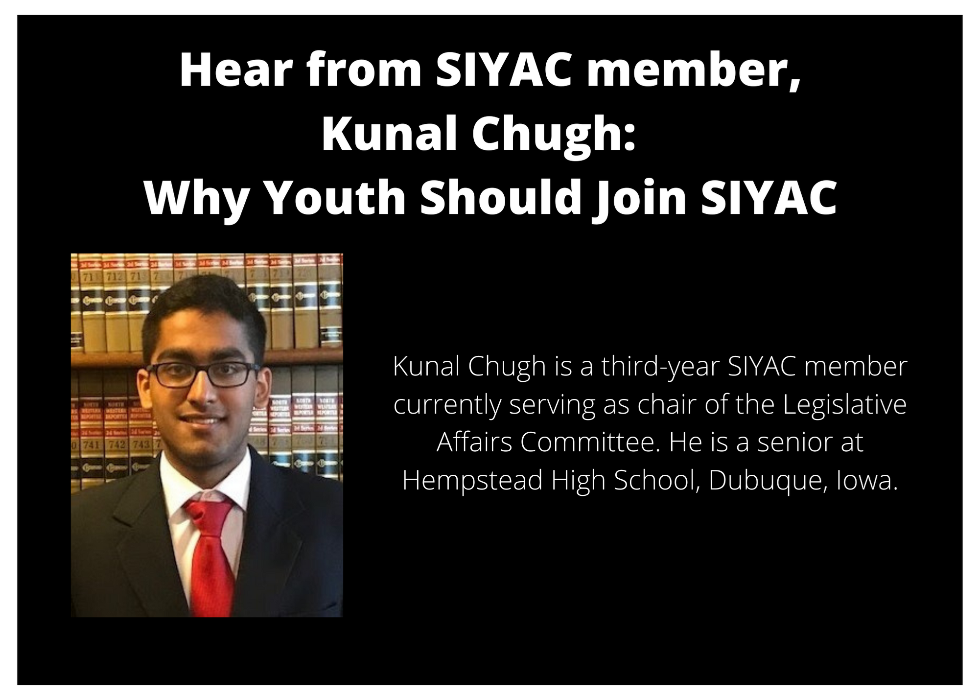 Hear from SIYAC member Kunal Chugh (1)