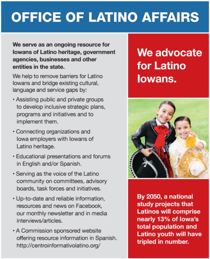 Latino Affairs Inset