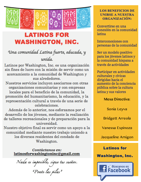 Latinos for Washington