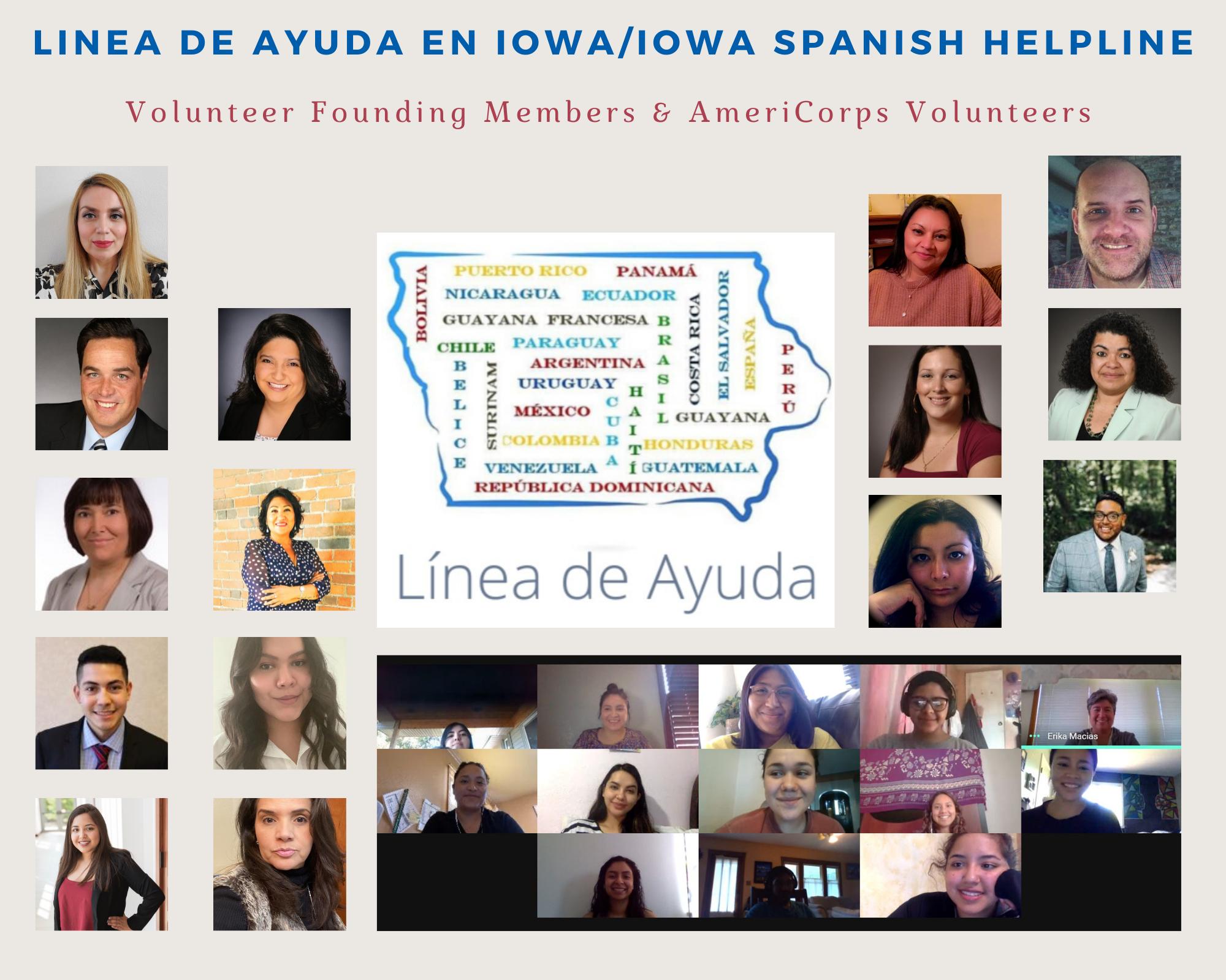 Spanish Helpline Founding Members