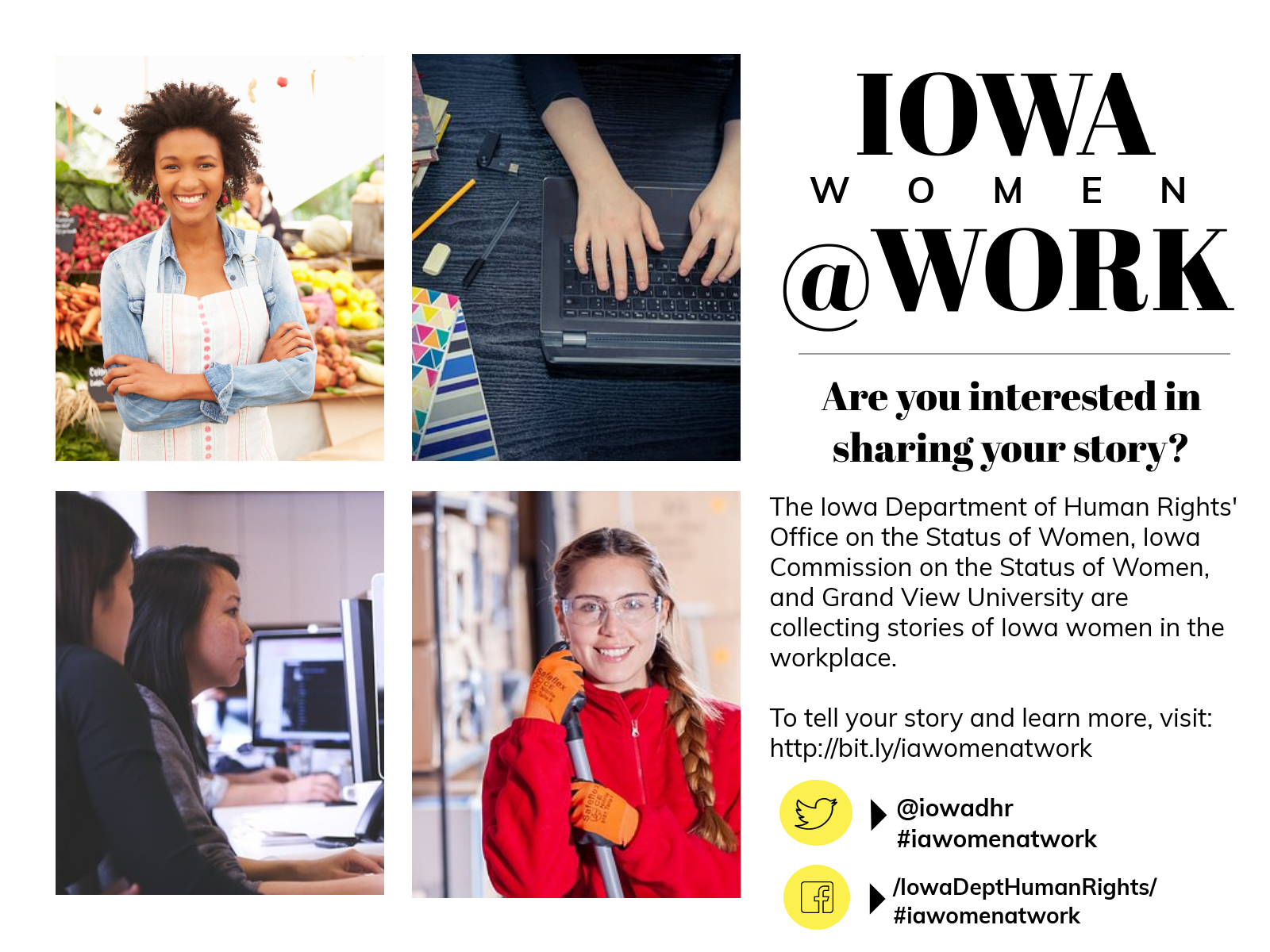 Iowa Women at Work Do you have a story to share?