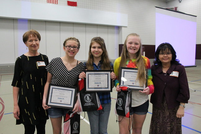 Ankeny winners of 2016 Women's History Month Video Contest