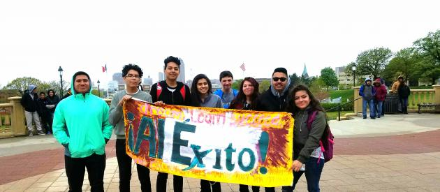 Al Exito Iowa Human Rights Youth Chapter