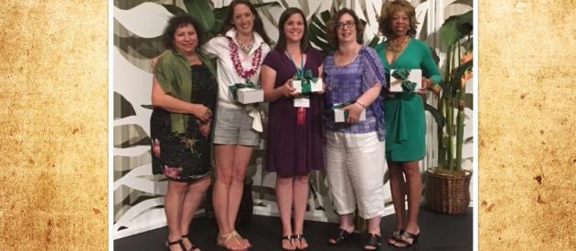 2016 NACW Achievement award winners